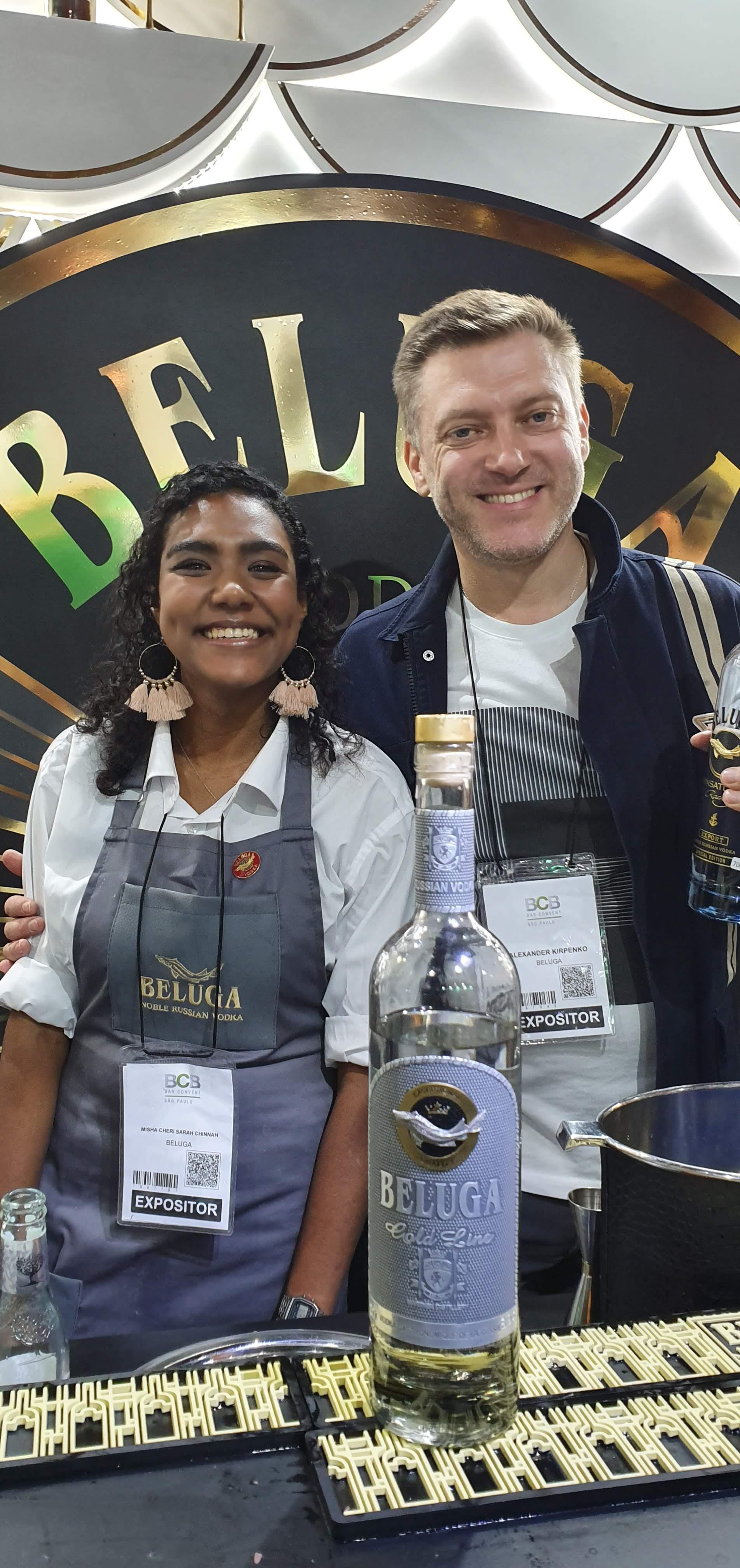 Misha e Alexander Kirpenko - Bar Convent São Paulo 2019
