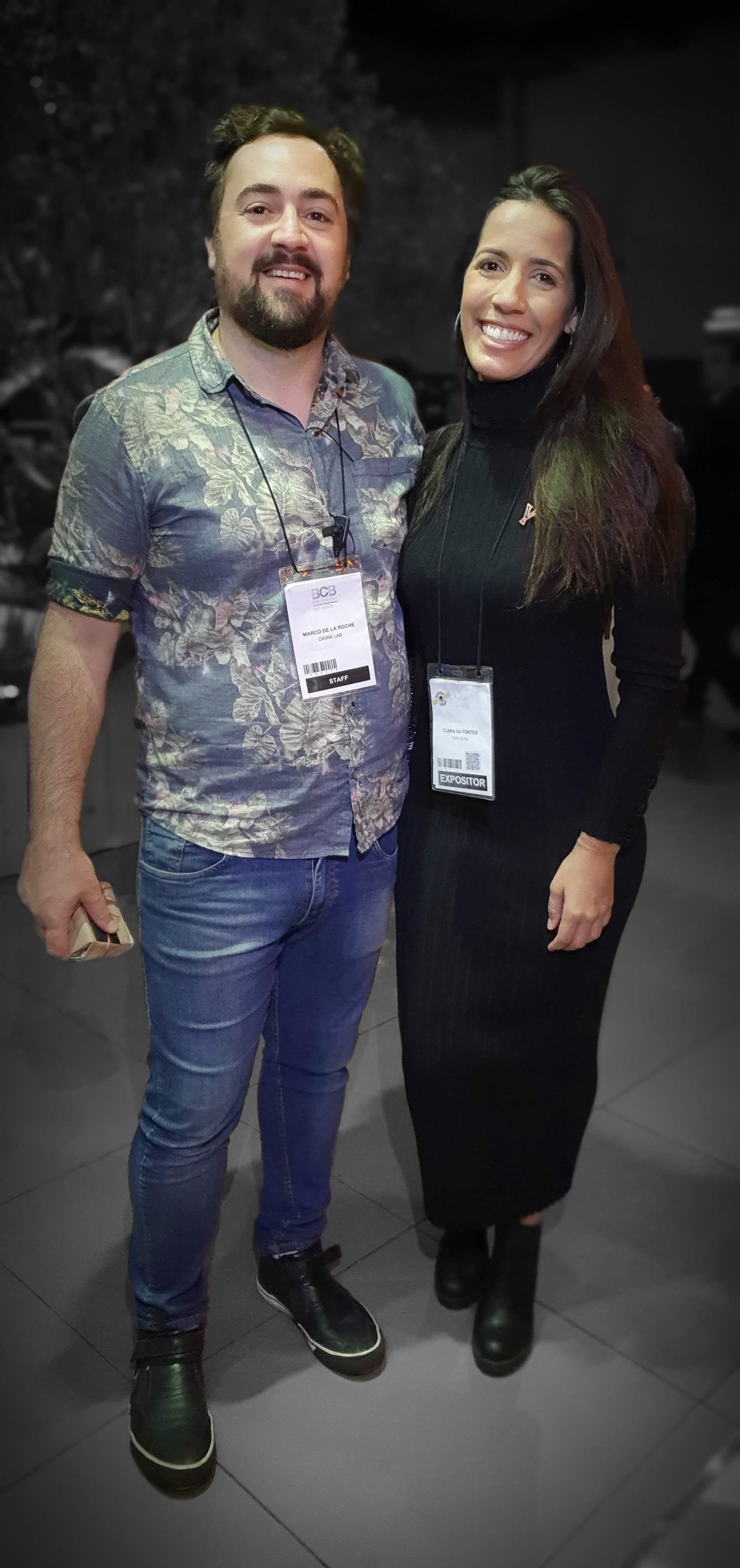 Marco De La Roche e Clara Sá Fortes - Bar Convent São Paulo 2019