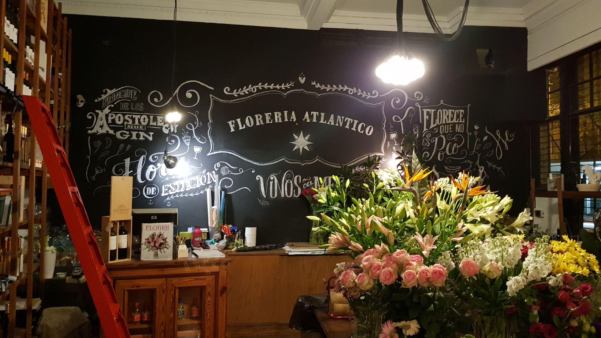 Entrada - Loja de flores - Floreria Atlântico