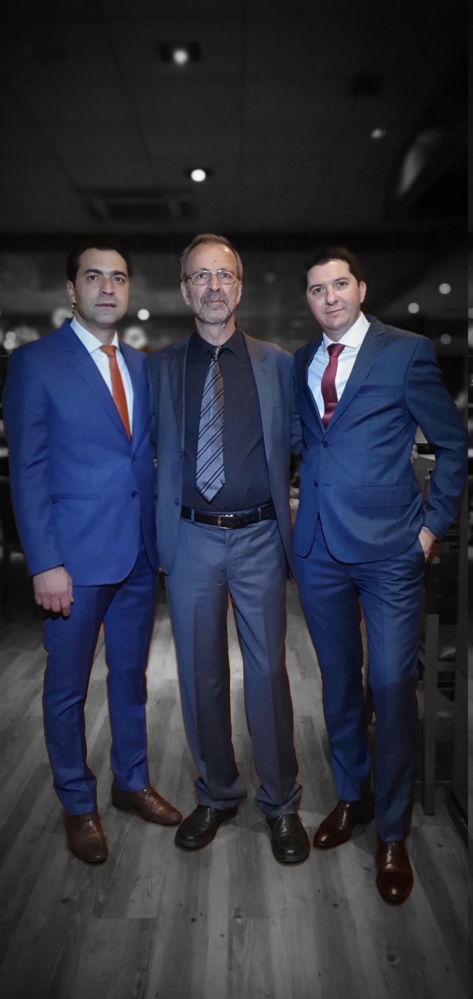 Cássio, Alfredo Farne e Luciano - Fogo de Chão Jardins