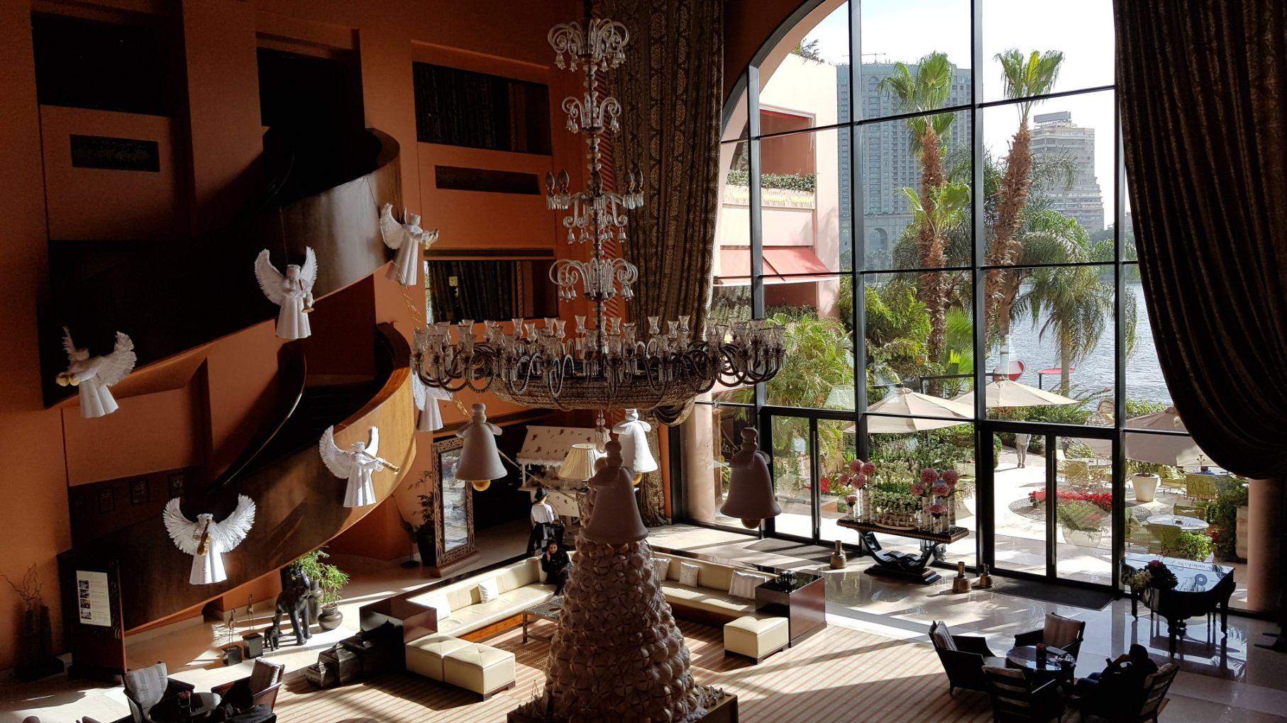 Hotel Sofitel Cairo Nile El Gezirah - Lobby