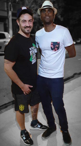 Mario Farulla e Vjay Mudaliar