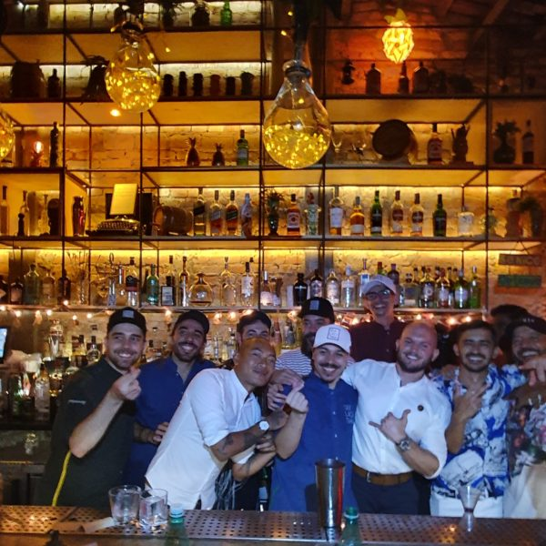 Bartenders convidados