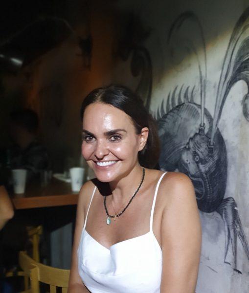 Aline Vargas Alcobia (Floreria Atlântico) - comemoração dos 7 anos do Florería Atlântico
