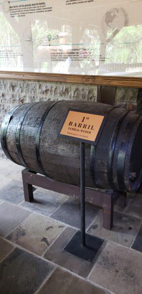 Primeiro barril da família Weber, Cachaçaria Weber Haus