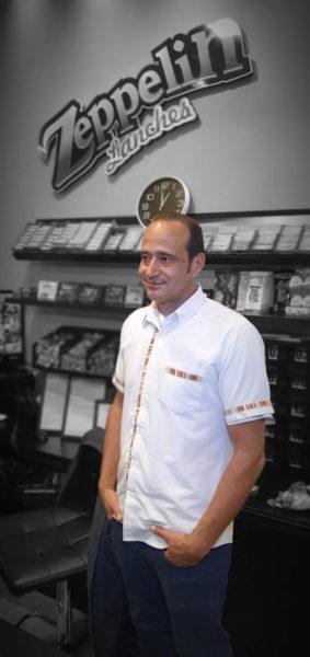 Rinaldo Carvalho Silva - Proprietário do Zeppelin Lanches