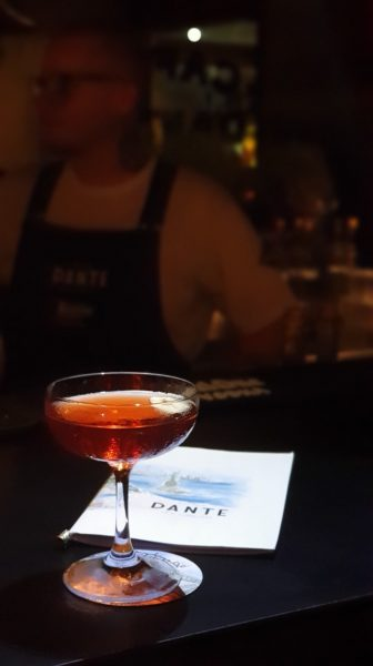 Unlikely Negroni, Dante NYC in Astor Rio