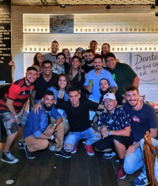 Geniais bartenders do Rio e de São Paulo que prestigiaram o Dante NYC in Astor