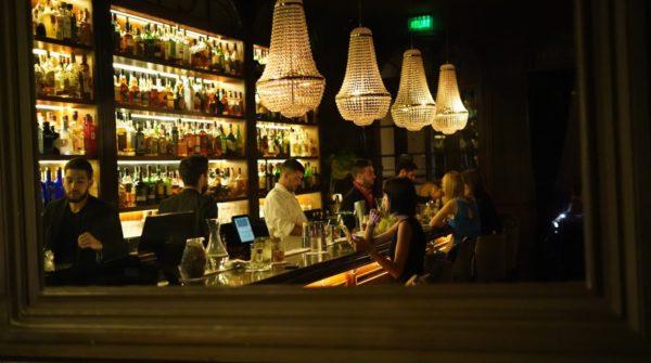 Equipe de bartenders do Presidente Bar