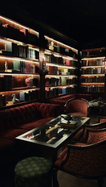 Majestoso ambiente do Salón Presidencial – Presidente Bar
