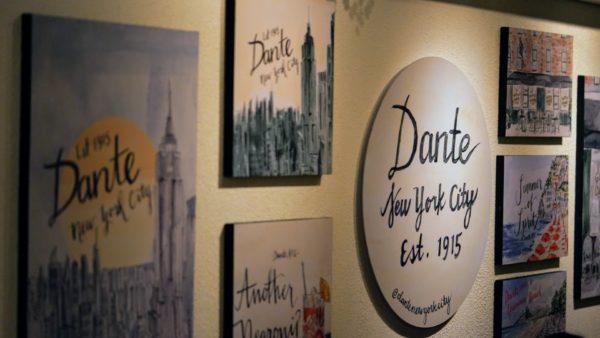 Ambiente inspirado na Dante NYC, Astor Rio