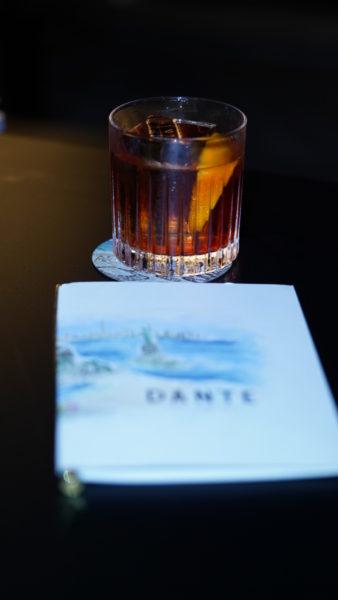 Dante's Negroni, Dante NYC, Dante in Astor Rio