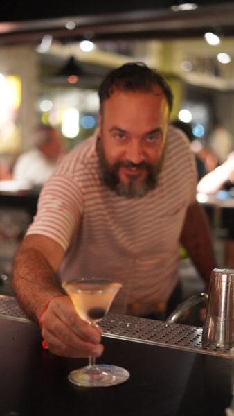 Coquetel Seco do Rio (Vodka Ketel One, Jaboticaba, Porto Dry) preparado por Tato Giovannoni, Dante NYC, Dante in Astor Rio