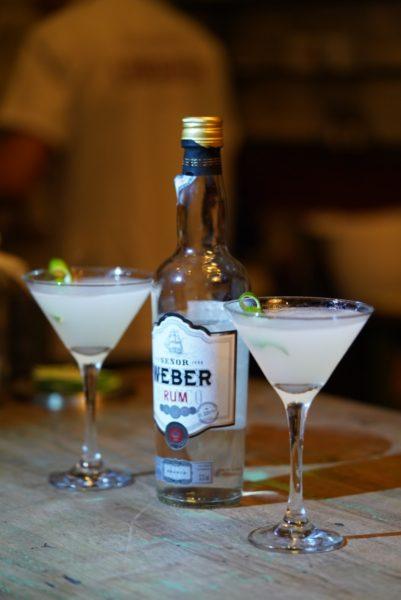 Daiquiri preparado com Run Señor Weber pelo bartender Albert Coelho, Cachaçaria Lamparina, Belo Horizonte
