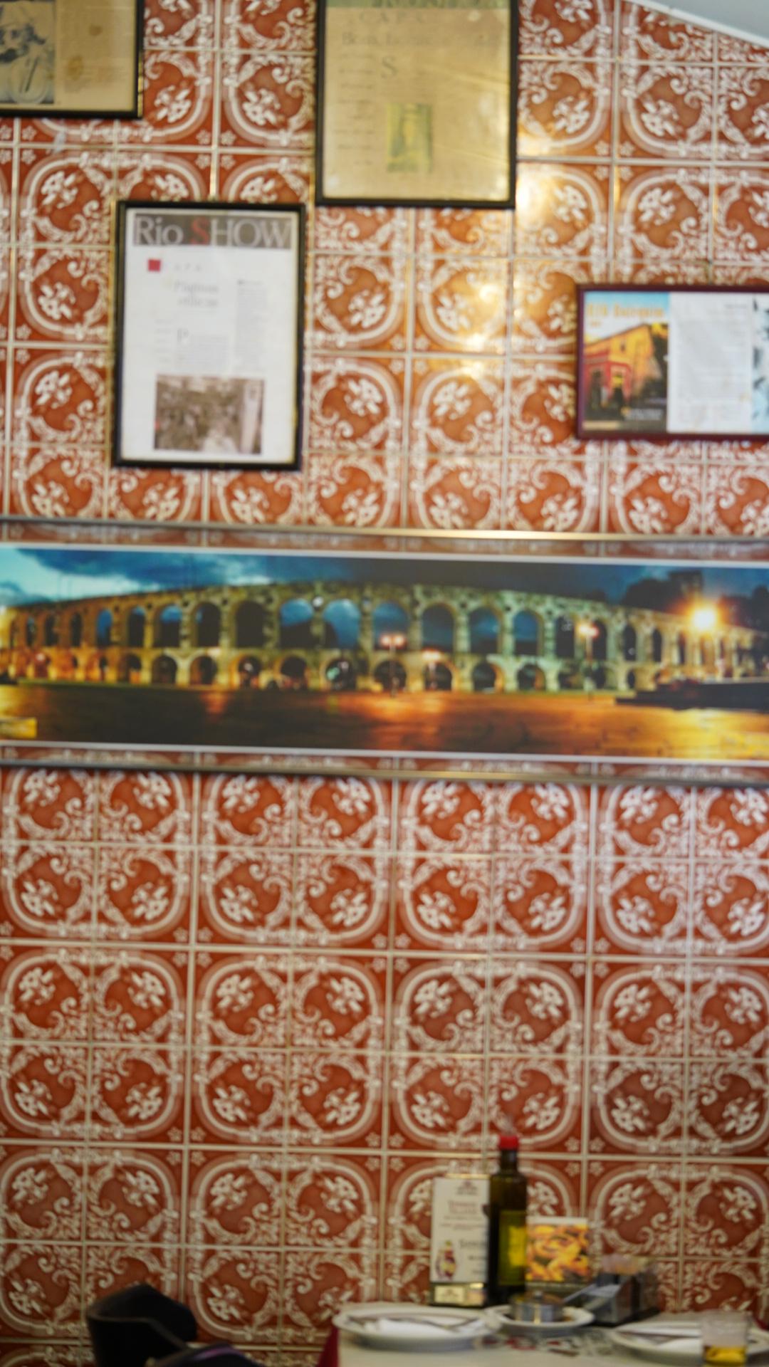 Ambiente do Bar e Restaurante Nova Capela
